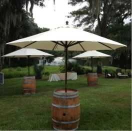 location barrique tonneau avec parasol 31 32 09 11 81 82