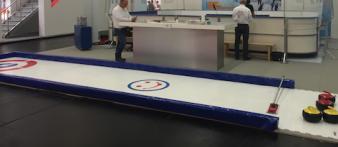 Location piste de curling