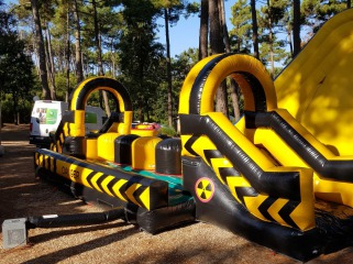 wipeout course obstacles