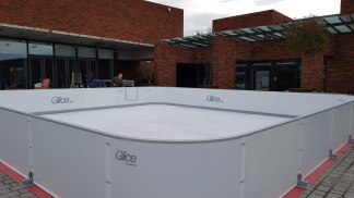 location patinoire synthetique