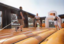 terrain de handball gonflable