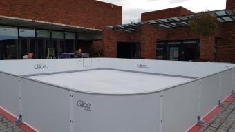 location patinoire écologique synthétique