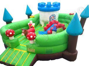 jeu gonflable petite enfance