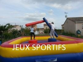 jeux sportif gonflable